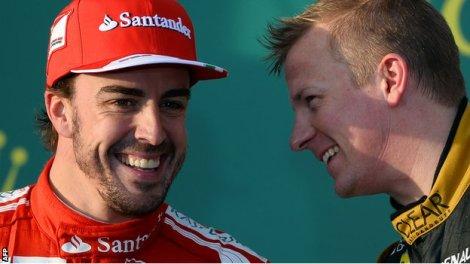 Alonso and Kimi II